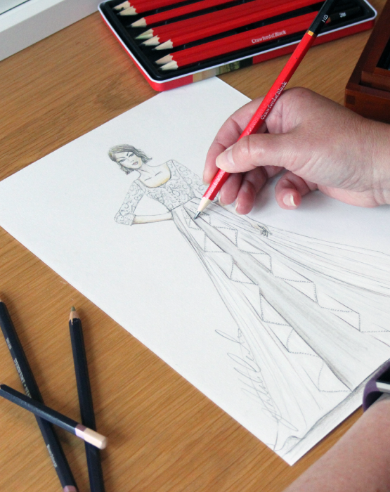 The Sketch My Dress Process