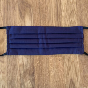 Navy Blue Face Mask Covering