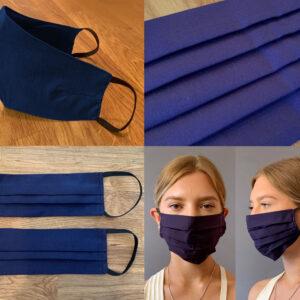 Navy Blue Face Mask
