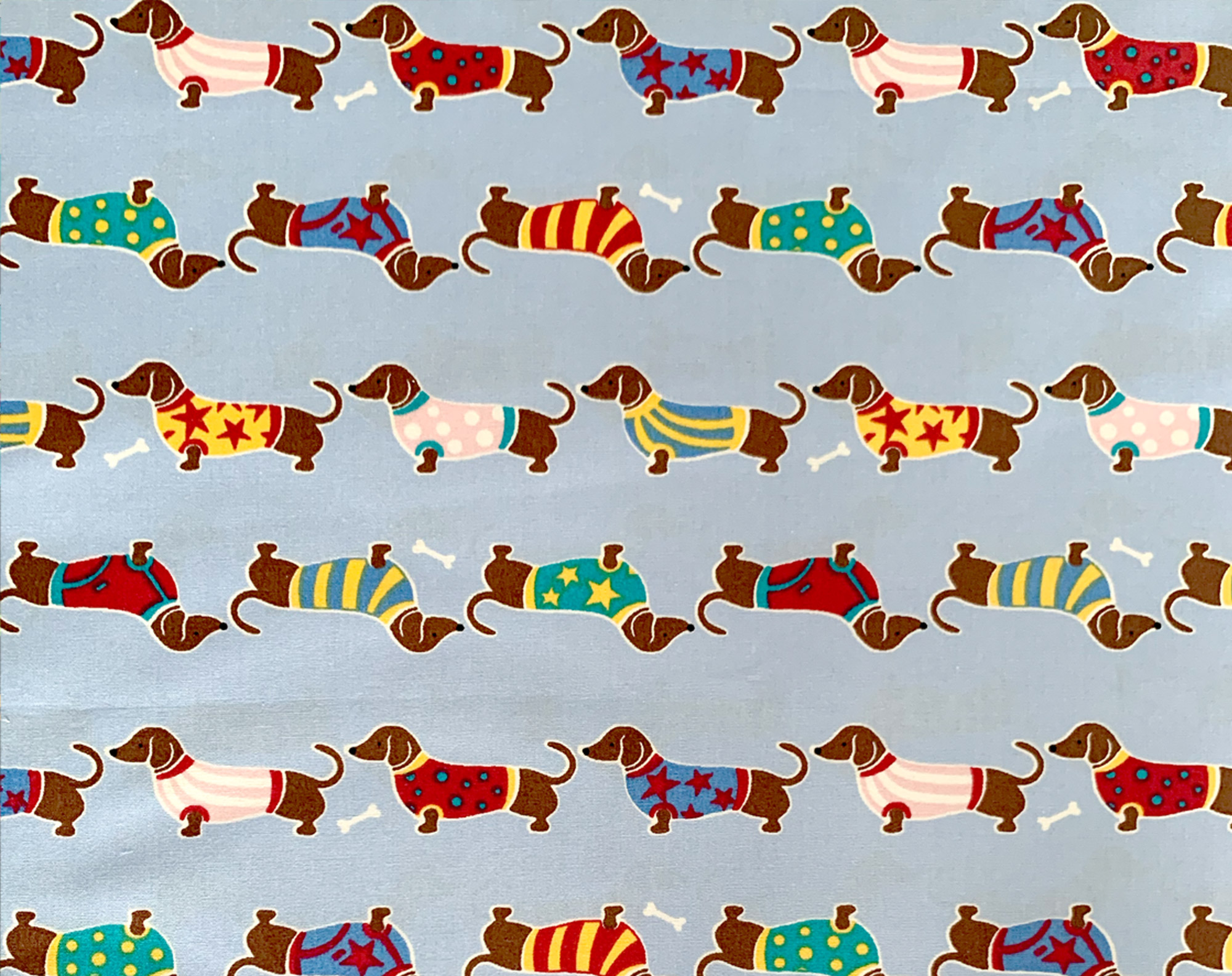Dachshund Sausage Dog Face Covering