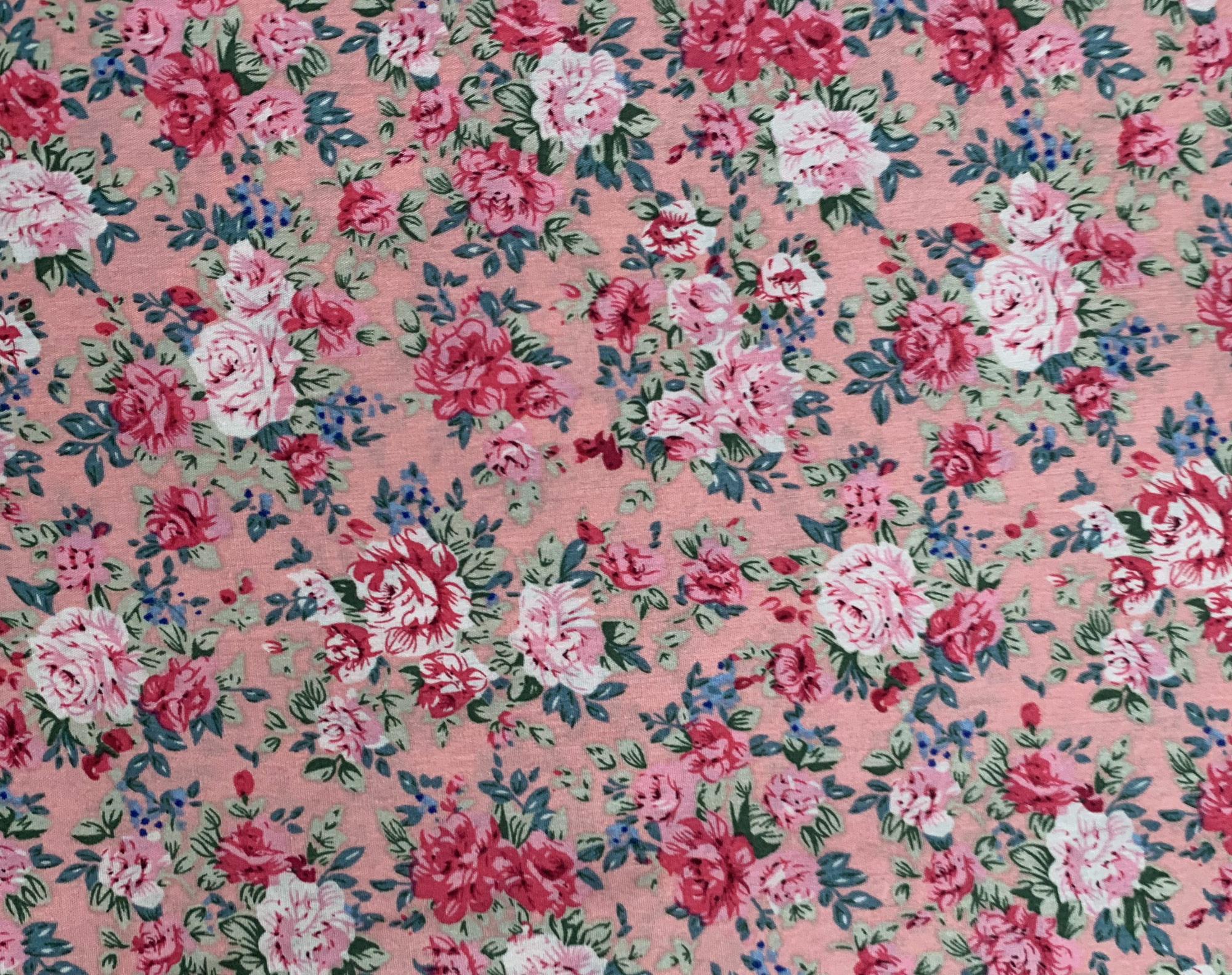 Floral in PINK – Vintage NEW PATTERN