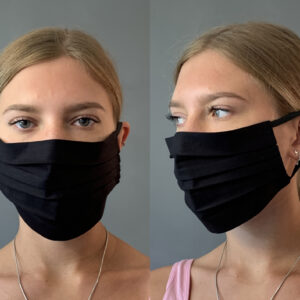 Plain Black Face Mask