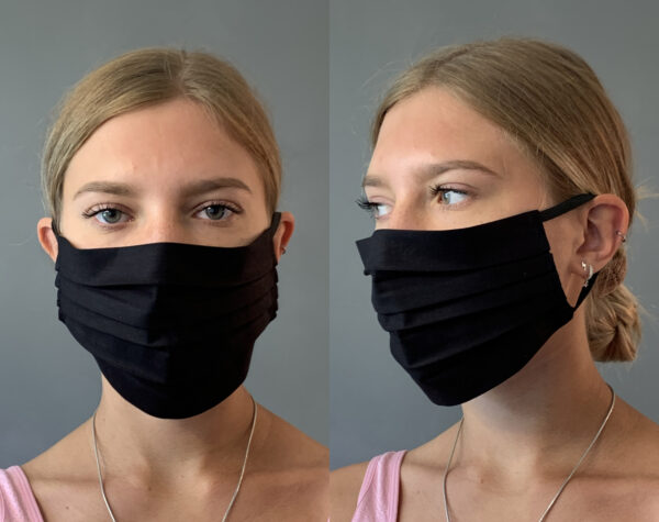 Plain Black Face Mask