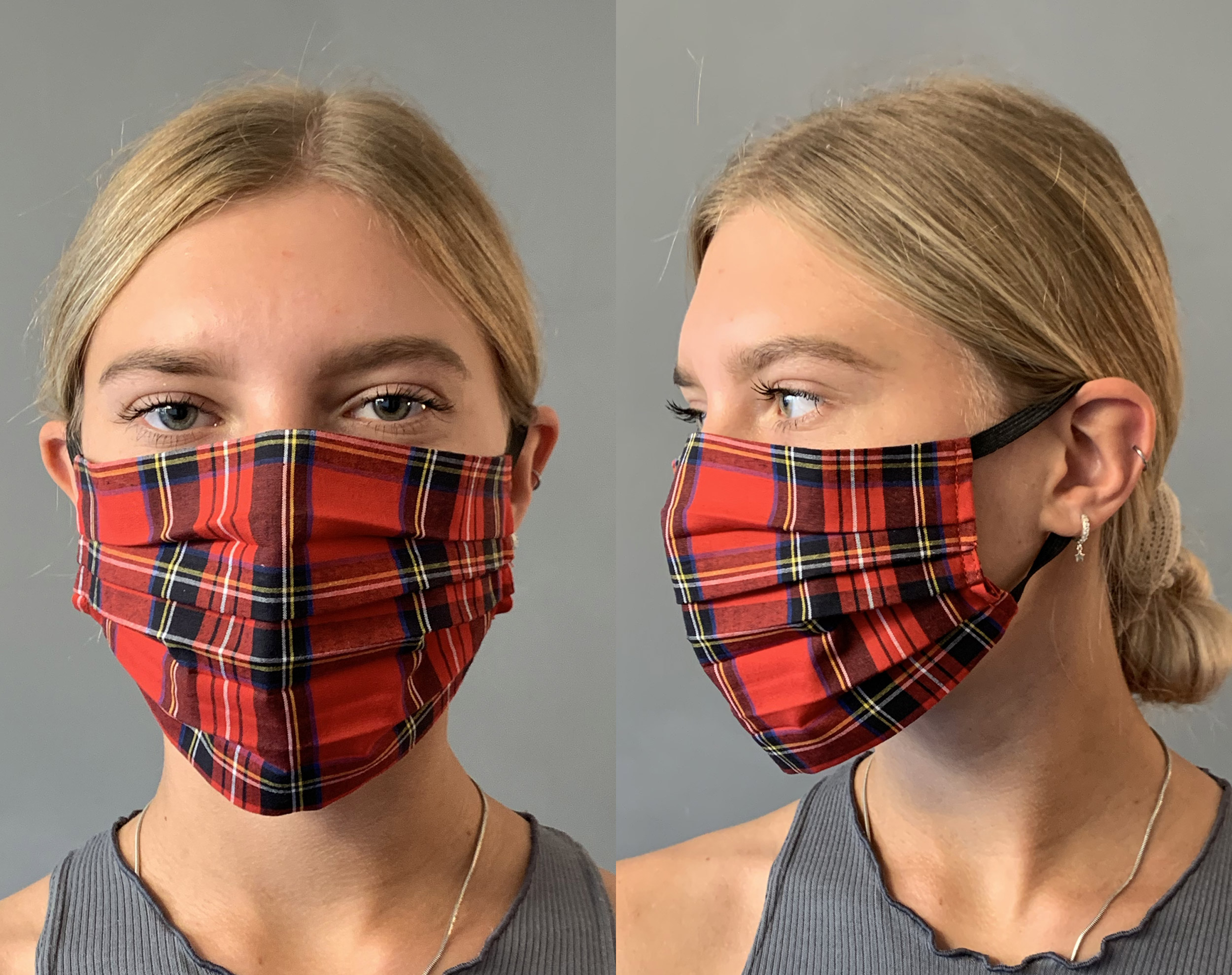Tartan Face Mask Covering