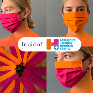 Official face mask for Lancashire Teaching Hospitals NHS Foundation Trust