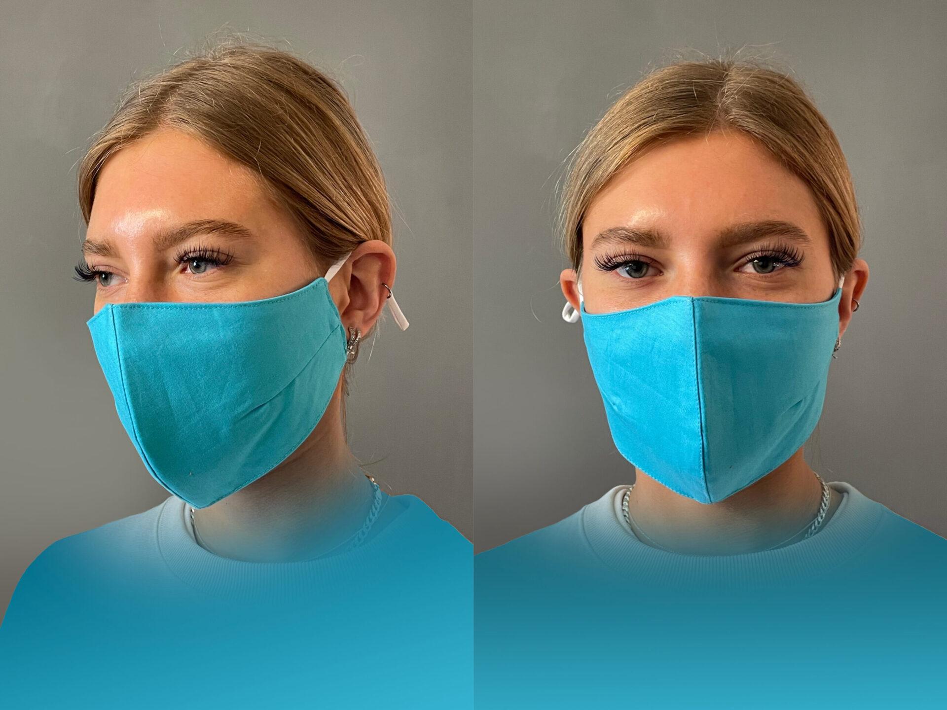 Lancashire Teaching Hospitals Charity Mask CYAN