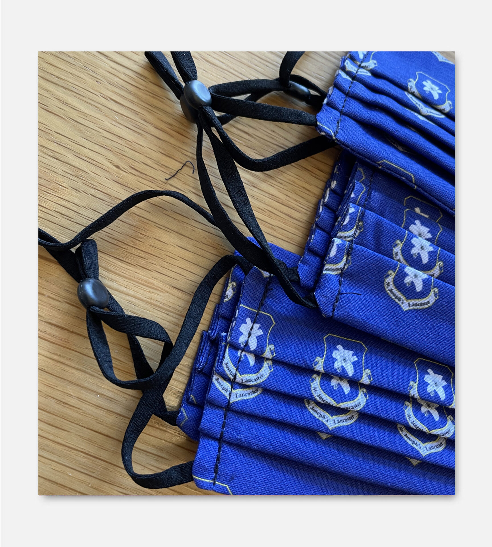 Bespoke Printed Fabric Face Masks
