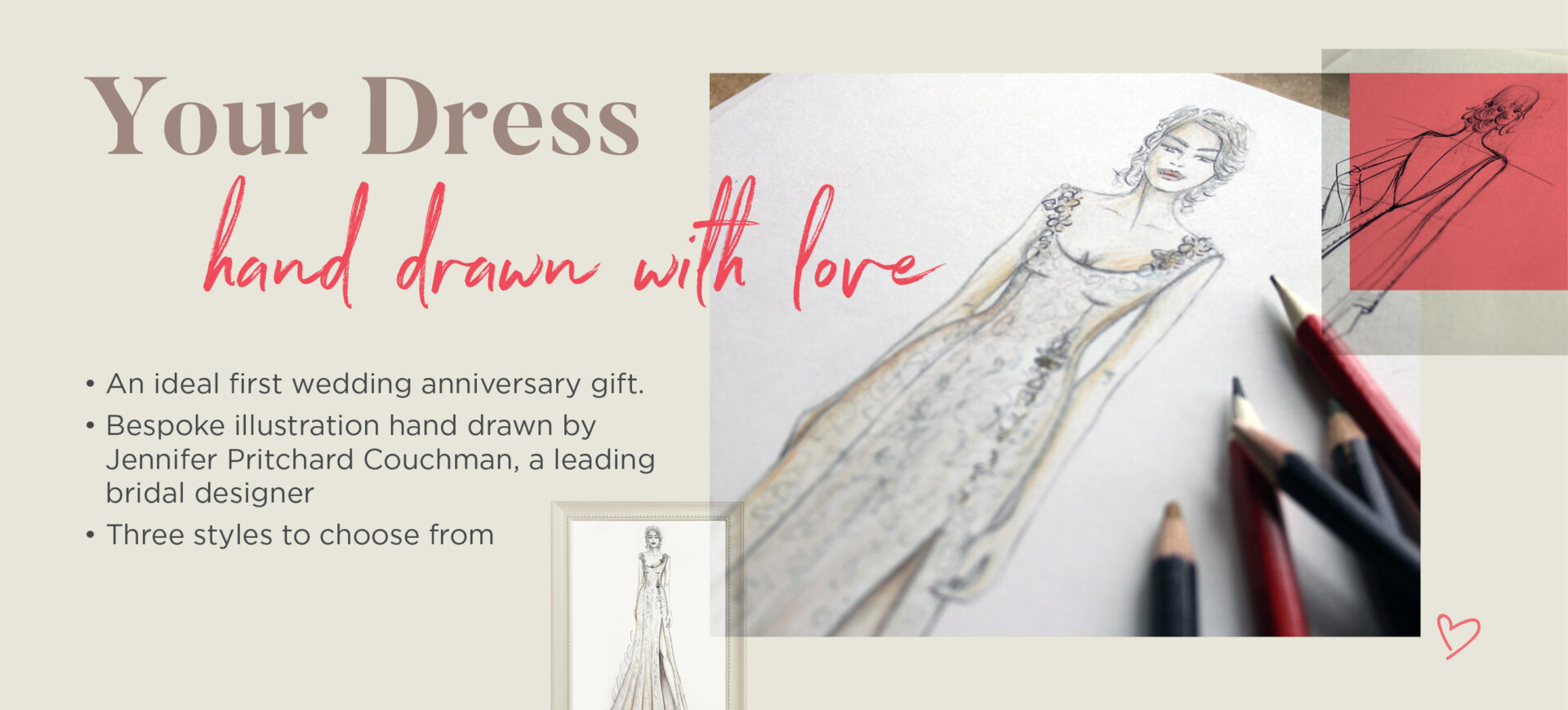 Bridal Dress Illustrations