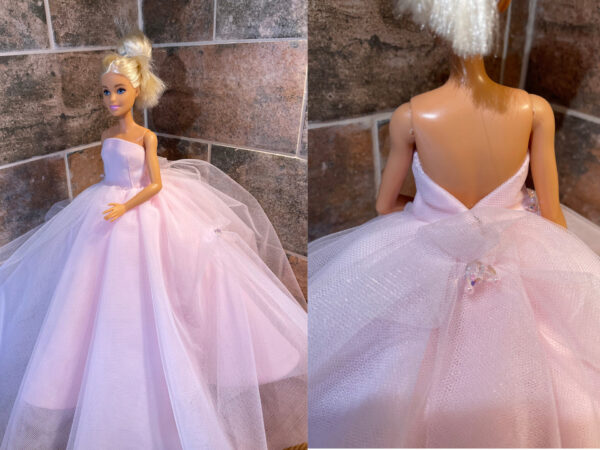 Pink Doll Gown