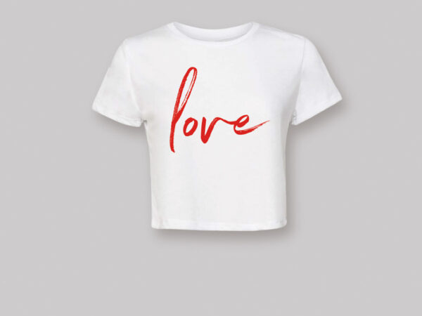 Bella Flowy Cropped T-shirt