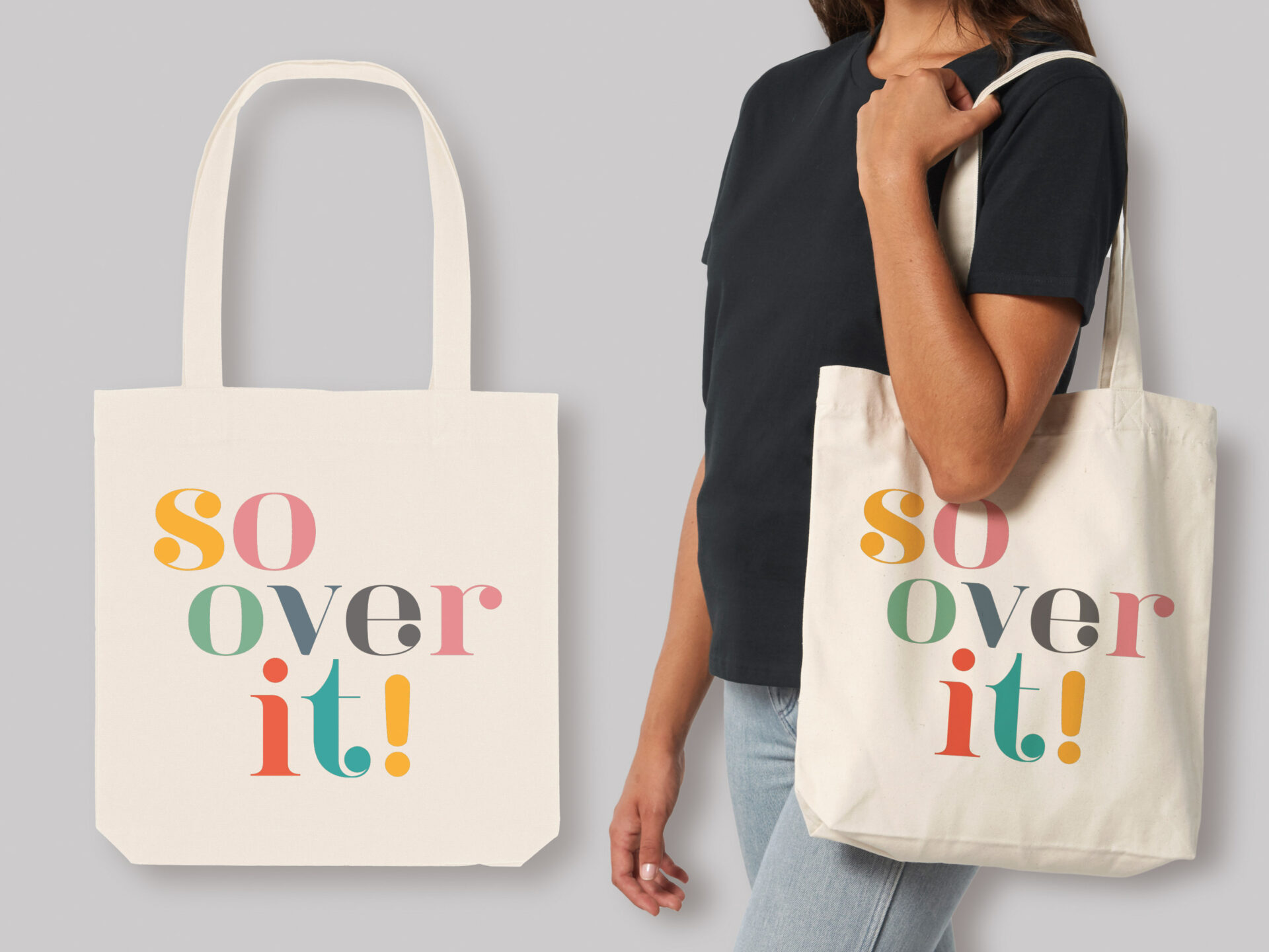 So Over It! Tote Bag