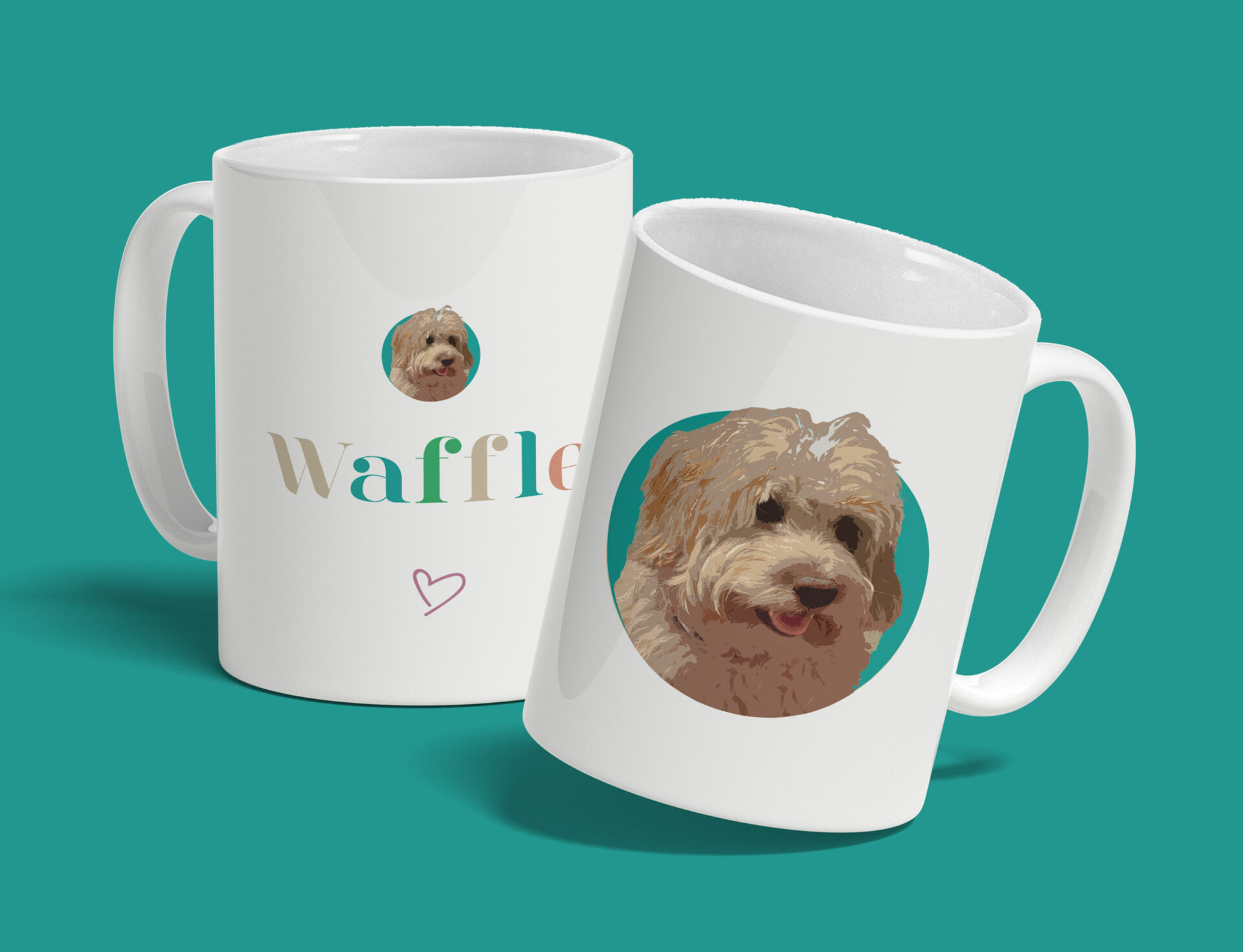 Personalised Pet Mug